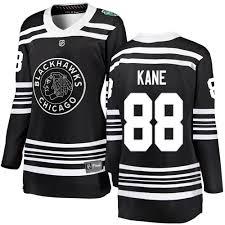 Women's 2019 Winter Chicago Black Patrick Breakaway Blackhawks Hockey Cheap 88 Jersey Classic Kane