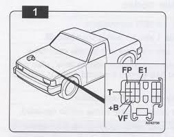 toyota 88 91 pickup or 4runner obd obd2 trouble codes pickup 4runner 88 91 checking cdes