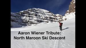 Aaron Wiener Tribute: North Maroon Ski Descent - YouTube
