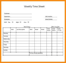 Timecard Template Word Bi Weekly Timesheet Template Excel Templateez Tk