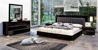 black modern bedroom sets. Made In Italy Leather Modern Bedroom Sets Feat. Lighting Seattle . Black