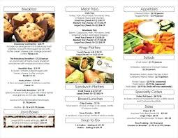 Free Catering Menu Templates For Microsoft Word Catering Menu Template Word Afflickted Info