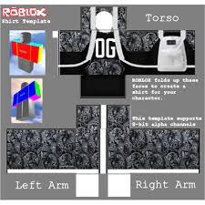 Roblox Shirt Templates