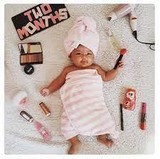baby milestones in months diy photography