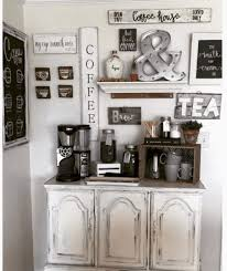 Love the decor and styling of this contemporary coffee station! 27 Creative Diy Coffee Bar Ideas For Your Cozy Home