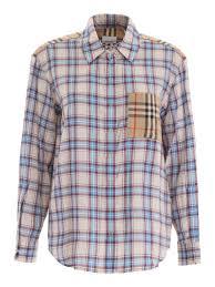Burberry Light Blue Burberry Payton Shirt
