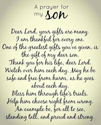 Beautiful Son Quotes Best of A Mother's Prayer For Her Son Food Pinterest Sons Bible And