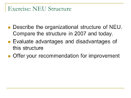 Neu Organizational Chart Organization System Structure And Culture Dr Crazy S