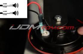 how to hook up 12v universal horn wiring harness relay kit install universal horn relay wiring kit