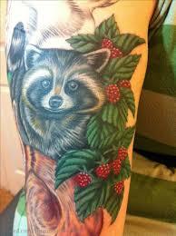 татуировка енот значение эскизы фото и видео Infotattoo