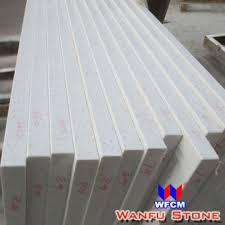 wf qc003 china polished 2cm eased edge white prefab quartz countertops manufacturer supplier fob is usd 20 9 85 9 set