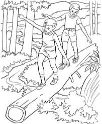 River Coloring Pages River Coloring Pages River Animals Coloring
