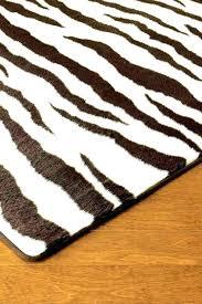 faux zebra print rug animal print rugs brown zebra rug faux fur best carpet for