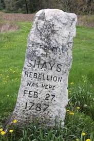 memorial to shay s rebellion in sheffield mass history  shay s rebellion