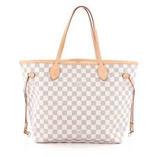 louis vuitton neverfull white. louis vuitton neverfull nm tote damier mm we offer you: $700 white o