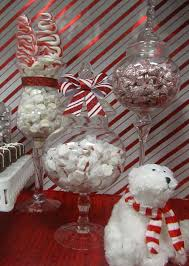 Candy Cane Theme Decorations Red and White Candy Cane ChristmasHoliday Party Ideas Photo 100 52