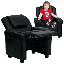 gorgeous toddler recliner chair with show home design cup holder