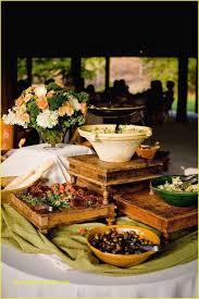 round table lunch buffet decorating ideas vertical arrangement food