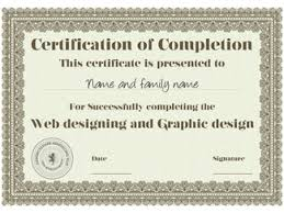 templates for certificates of completion what to consider when designing a certificate of completion