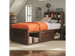 Coaster Greenough 400820T Twin Bed with Bookcase Storage | Dunk ...