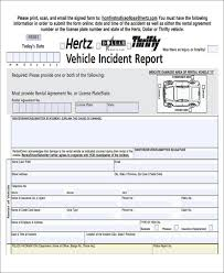 54 Incident Report Samples Pdf Word Docs