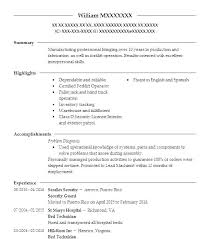 Security Officer Resume Best Resume Examples For Security Guard Kenicandlecomfortzone