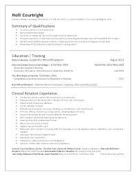 Nursing Resumes And Cover Letters Nursing Resume For New Grad ...
