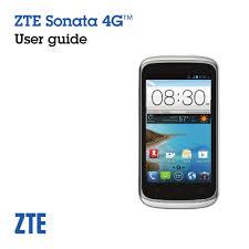 ZTE SONATA 4G USER MANUAL Pdf Download ...