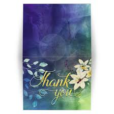 Watercolor thank you cards Diy Watercolor Floral Nature Themed Blue Green Watercolour Thank You A2 Folded Lemon Leaf Prints Thank You Card Blue Green Watercolour Flowers Leaves
