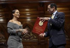 Image result for Rihanna named Harvard's Humanitarian of the Year