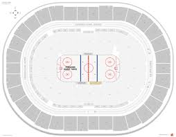 Consol Seating Chart With Seat Numbers Pittsburgh Penguins Seating Guide Ppg Paints Arena