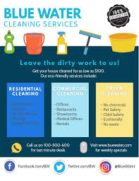 Commercial Cleaning Flyers Cleaning Flyer Informational Template Postermywall