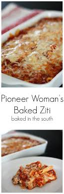 pioneer woman crock pot. pioneer woman\u0027s baked ziti woman crock pot