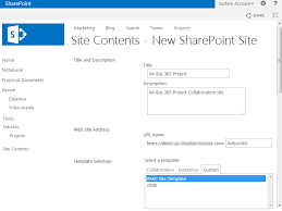 Create Sharepoint Site Template Create A Sharepoint Subsite From Custom Site Template Using