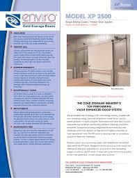 Cold Storage Design Pdf Enviro Model Xp 2500 Pdf Brochure Manualzz Com
