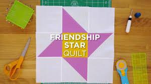 Quilt Snips Mini Tutorial – Friendship Star &  Adamdwight.com