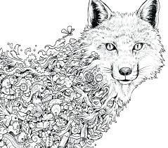 Intricate Coloring Pages Animals Page Animal Pleasurable Ideas