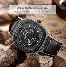 watches men luxury brand automatic self wind megir 3012 leather 1 x genuine megir 3012 watch