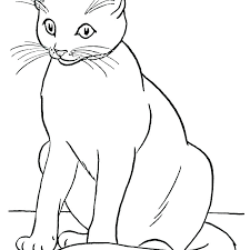 Coloring Pages Of Cats Kitty Cat Coloring Pages Cat Coloring Pages