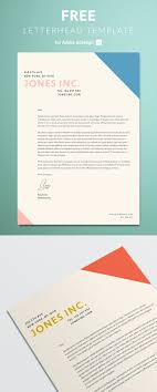 Letterhead Samples Free Download Letterhead Template For Indesign Free Download
