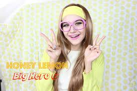 big hero honey lemon makeup tutorial
