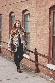 leopard fur coat leather pants 2