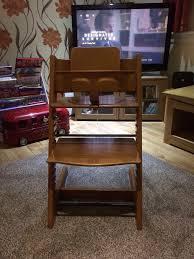 stokke tripp trapp high chair in chryston glasgow gumtree