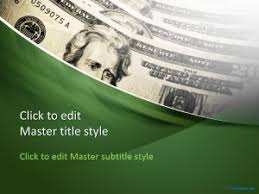 Free Money Ppt Templates Free Dollars Ppt Template