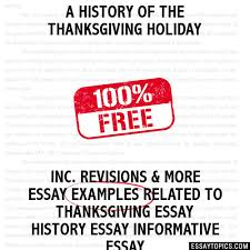 a history of the thanksgiving holiday essay a history of the thanksgiving holiday