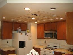 how to update recessed fluorescent lighting in kitchen image