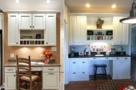40 Clever Ideas To Design A Functional Office In Your Kitchen Cool Kitchen Desk Ideas