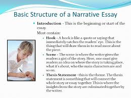 elements of a narrative essay ppt video online  basic structure of a narrative essay