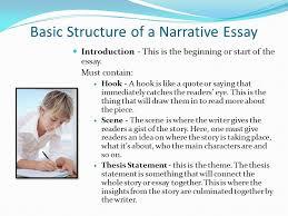 elements of a narrative essay ppt video online  basic structure of a narrative essay