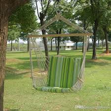garden patio porch hanging cotton rope swing jpg
